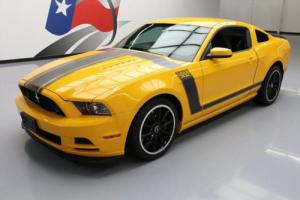 2013 Ford Mustang BOSS6-SPEED RECARO SEATS