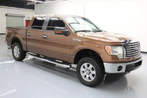 2012 Ford F-150 TEXAS ED CREW 5.0 4X4 SIDE STEPS