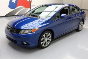 2012 Honda Civic SI SEDAN 6-SPEED SUNROOF NAV