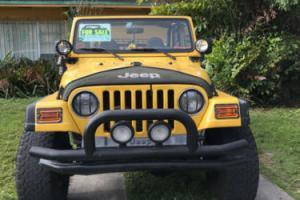 2000 Jeep Wrangler 2 DOOR
