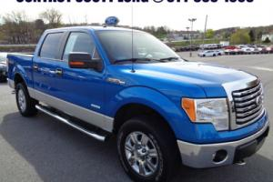 2011 Ford F-150 2011 F-150 Crew 3.5L Ecoboost 4x4 Short Bed Blue