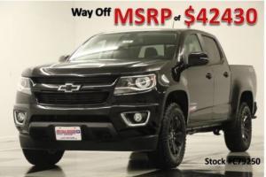 2017 Chevrolet Colorado MSRP$42430 4WD Z71 Midnight Edition GPS Crew 4WD
