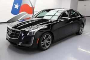 2014 Cadillac CTS TT VSPORT VENT SEATS NAV REAR CAM Photo