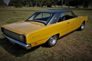 VALIANT VG REGAL HARDTOP WITH ALL 770 OPTIONS HEMI 2BBL 245 AUTO HOT MUSTARD ! Photo