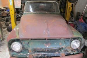 FORD 1954 F100 F SERIES TRUCK UTE PICKUP RATROD 1956 100 STEPSIDE 1955 1953