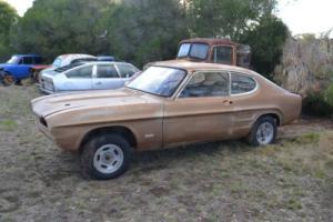Ford Capri 1971 V6 GT Rolling Body for Sale