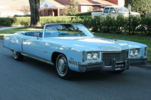 1972 Cadillac Eldorado CONVERTIBLE - 500 V-8 Photo
