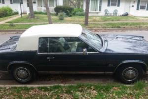 1985 Cadillac Eldorado Commemerative Edition