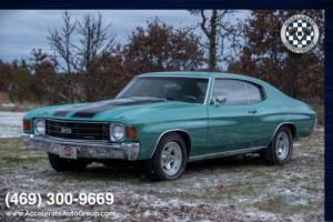 1972 Chevrolet Chevelle CUSTOM 383 Stroker 470HP!
