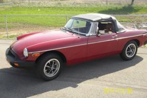 1979 MG MGB MGB