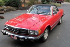 1984 Mercedes-Benz SL-Class 380SL Photo