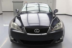 2007 Lexus IS AWD CLIMATE LEATHER SUNROOF NAV