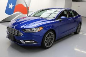 2017 Ford Fusion SE ECOBOOST TECH REAR CAM SYNC