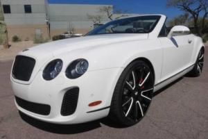 2012 Bentley Continental GT Convertible
