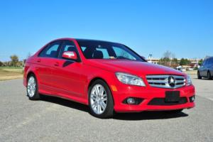 2009 Mercedes-Benz C-Class C300 Sport / Low Miles / AWD / Clean Carfax!!