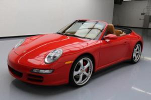 2008 Porsche 911 CARRERA 4S CABRIOLET AWD SPORT CHRONO!
