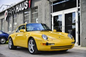 1996 Porsche 911 2dr Carrera Coupe 6-Speed Manual
