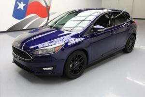 2016 Ford Focus SE HATCHBACK LEATHER REAR CAM