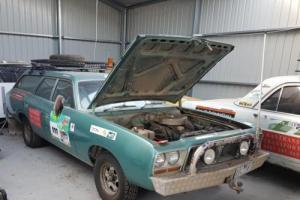 CM Valiant 1980 Valiant wagon Chrysler wagon Bash car rally car Variety cruiser