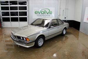 1984 BMW 6-Series Euro