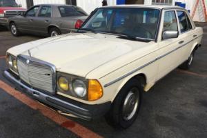 1983 Mercedes-Benz 300-Series No Reserve Auction. 100% Drivable!