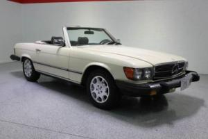 1980 Mercedes-Benz SL-Class V8 AUTOMATIC HARD TOP CONVERTIBLE CHROME WHEELS