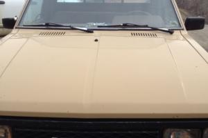1984 Datsun Other PICK 4X4 720 Photo