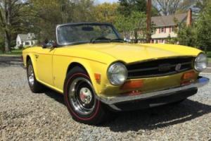 1974 Triumph TR-6 NONE