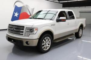 2013 Ford F-150 KING RANCH CREW SUNROOF NAV 20'S
