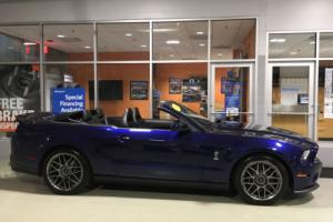 2012 Ford Mustang Shelby GT500 Convertible SVT Performance Pkg Navigation