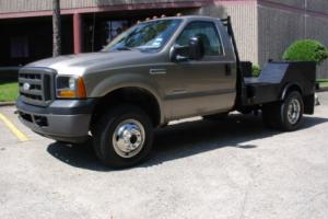 2005 Ford F-350 DIESEL WELDING UTILITY BED 5-SPEED 4X4 DUALIE