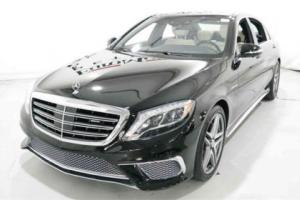 2015 Mercedes-Benz S-Class 4dr Sedan S 65 AMG RWD