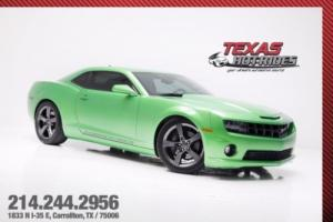 2011 Chevrolet Camaro SS Supercharged Synergy Green Edition