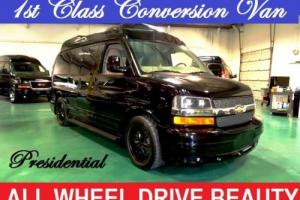 2014 Chevrolet Express PRESIDENTIAL CONVERSION VAN AWD