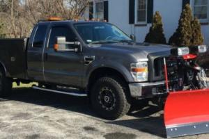 2009 Ford F-350 V Plow