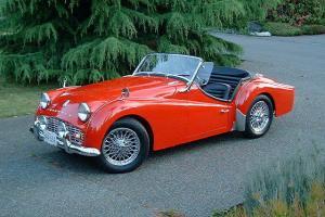 1958 Triumph TR3a  | eBay Photo