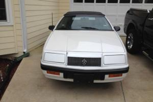 1989 Chrysler LeBaron LX Photo