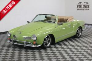 1969 Volkswagen Karmann Ghia REBUILT 1600 CC ENGINE ORIGINAL DASH