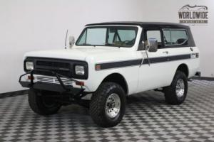 1980 International Harvester Scout REBUILT V8 POWER DISC BRAKES