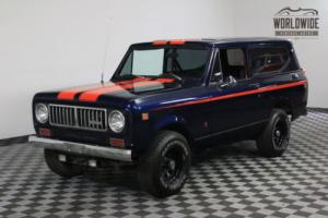 1974 International Harvester Scout FULLY RESTORED. 4X4 PS PB AC V8 ONE OWNER