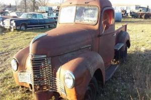 1948 International 1/2 Ton Pickup --