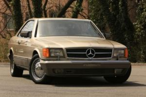 1987 Mercedes-Benz 500-Series 560SEC Photo
