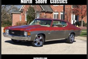 1972 Chevrolet Chevelle -SHOW CAR-HIGH END CUSTOM PRO TOURING BUILD-KINDIG Photo
