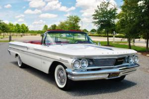 1960 Pontiac Bonneville Convertible Fully Restored California Car! Rare! Photo