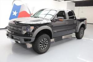 2014 Ford F-150 SVT RAPTOR CREW 4X4 6.2 SUNROOF NAV