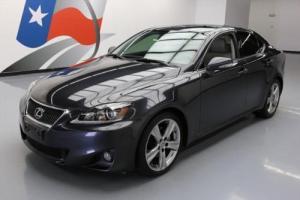 2011 Lexus IS SEDAN AUTO SUNROOF NAV REAR CAM