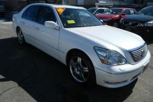 2005 Lexus LS 4 Door Sedan