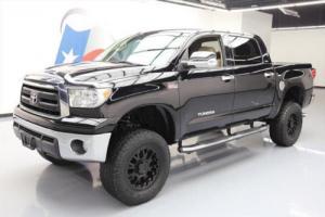 2012 Toyota Tundra SR5 CREWMAX 4X4 LIFT REAR CAM