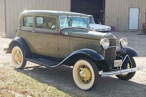1932 Ford Deluxe Victoria Vicky