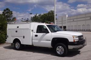 2005 Chevrolet Silverado 2500 Service Utility Body